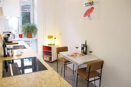Sunny parkside-apartment /Kreuzberg - Berlin - Apartment