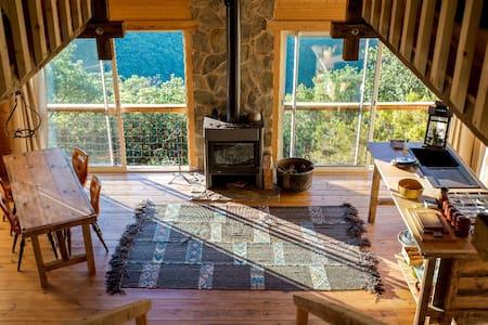 cabane de charme avec vue - Hérault - Cabin