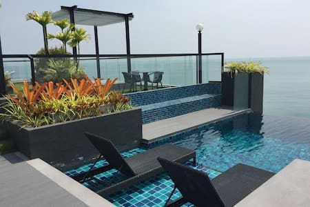 Luxury Living@River-Beach condo - Noen Phra