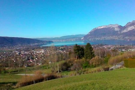 Maison des Chevreuils-Lac d'Annecy - Huoneisto