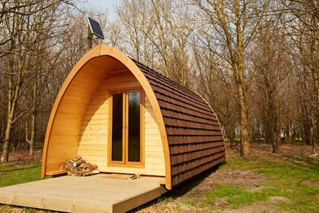 Camping Pod, New Farm Holidays - Lincolnshire - Hut