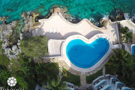 Modern Ocean Front / Penthouse - San Miguel de Cozumel - Leilighet