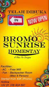 BROMO SUNRISE HOMESTAY - Kanigaran - Bed & Breakfast