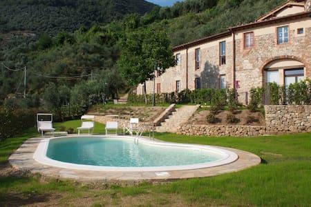 Beautiful restored apartment with sea view pool - Camaiore - Apartemen