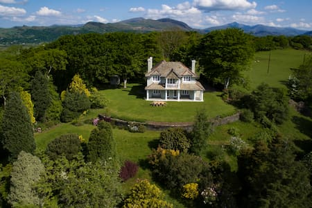 Luxurious Edwardian Villa - Hafod Cae Maen - Portmeirion - Villa
