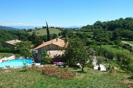 Chez Chris 2, calme, vue imprenable - Veyras, Auvergne-Rhône-Alpes, FR