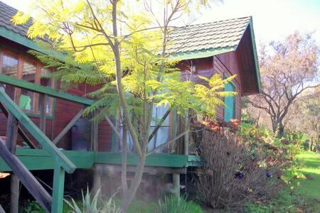 Cabaña en Oasis La Campana. Valparaíso, V Región - Mökki
