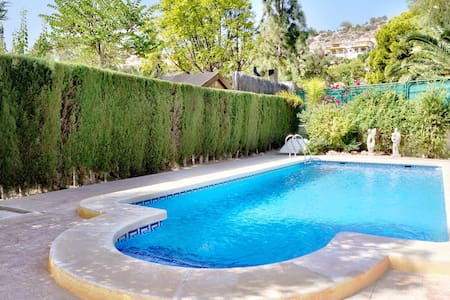 Bonalba Golf Villa (pool, garden, 4 rooms 3 baths) - Mutxamel