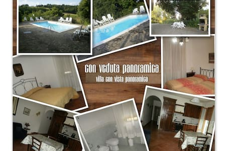 house with    swimming    pool - Chiusdino - Villa