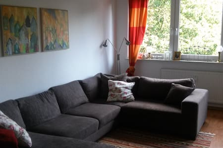 Bright 4 Room Appartment with 3 Bedrooms/balcony - Apartment