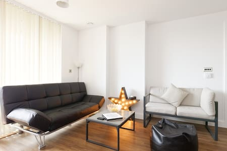 Double bedroom, with private bathroom - Lewisham - Apartamento