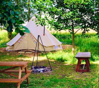 Crooked willow campsite, Glamping! - Tent