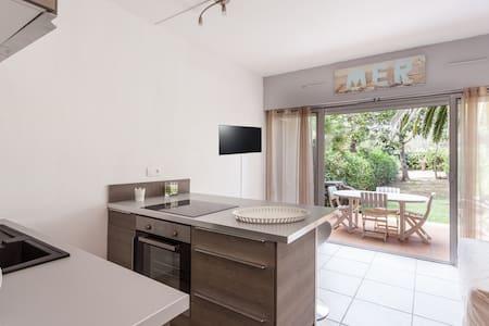 Appartement avec jardin et piscine - Byt