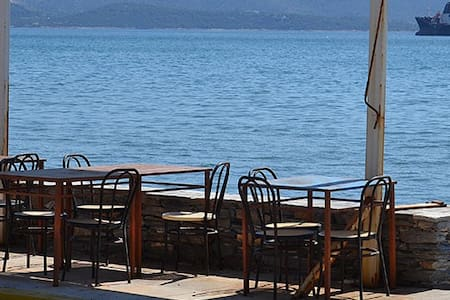 Με θέα τον κόλπο Ελευσίνας - Leilighet