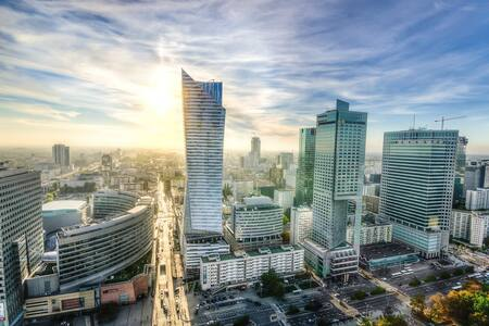The centre of Warsaw is waiting for you - Lägenhet