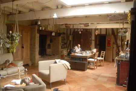 Maison - ferme écologique avec animaux - Gratens - Haus