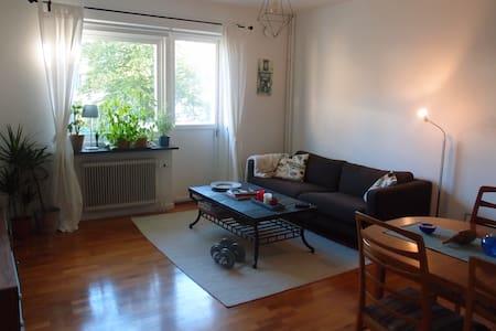 Fresh, calm room in appartment in Gothenburg - Gothenburg