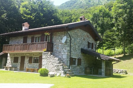 Rustic cabin in Sella Chianzutan - Verzegnis - Blockhütte