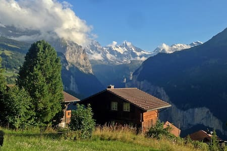 Cosy Chalet with Stunning View - Lauterbrunnen - House