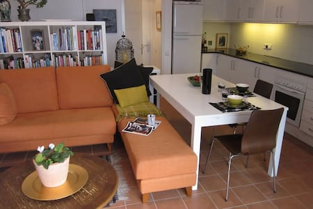 Apartamento con terraza cubierta - Apartment