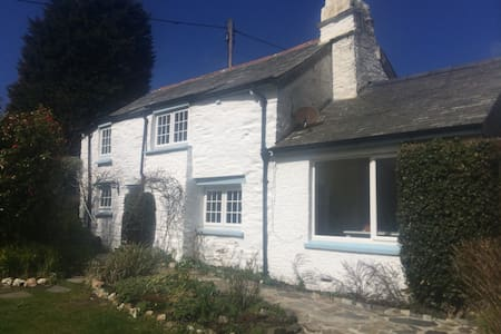 Briar fishermans Cottage and garden by the coast - Boscastle - Casa