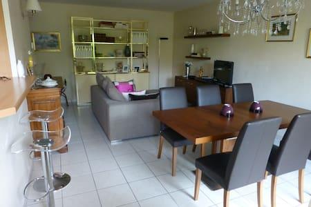 appt. en rez-de-jardin, confort,calme,gde terrasse - Archamps - Condominium