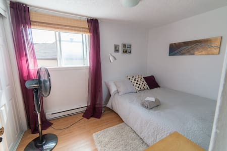 Quiet & Cozy Room Steps to Downtown Ottawa/Hull - Lakás