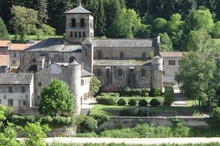 Chambre dans agréable Maison de Bourg - Chamalières-sur-Loire - Huis