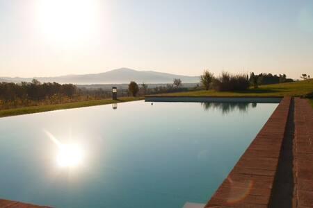 Prachtig appartement op Toscaans landgoed - Badicorte - Selveierleilighet