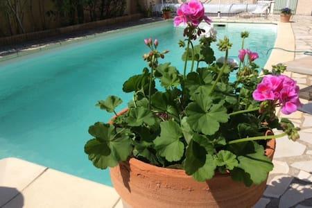 Charmante villa avec piscine - Willa