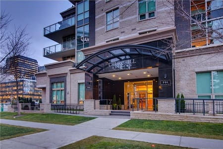 Luxury Executive 2BR Condo in Downtown Eau Claire - Calgary - Condominium