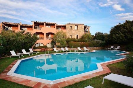 Cala di Volpe_Cute Apartment_sea view terrace&pool - Cala di Volpe - Apartment