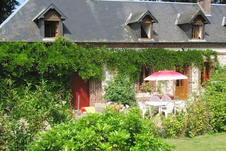 Etretat bucolique& relaxant 13 pers - Villainville - Casa