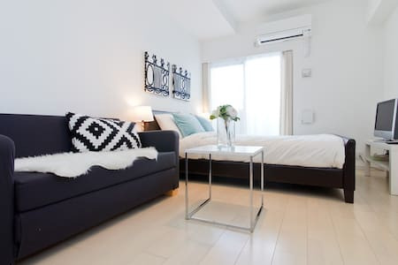 Shinsaibashi/1min Sta/Clean/1−3ppl - Ōsaka-shi - Apartment