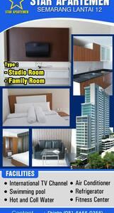 Star Apartment 12th Floor - Semarang - Lejlighed