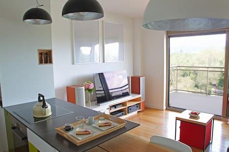 Designer studio with balcony facing park Bundek - Zagreb - Leilighet