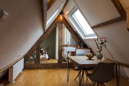 Private Attic Studio/Roofterrace - Amsterdam - Rekkehus