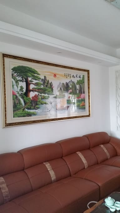 沙发墙(wall of living room)