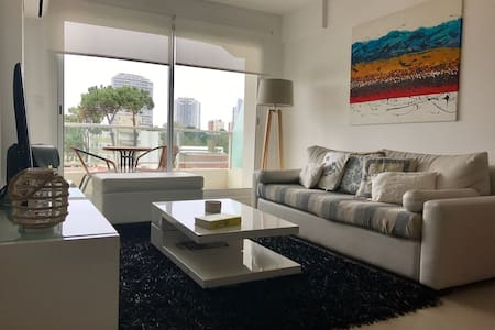 Modern apartment next to Conrad and main beaches! - Punta del Este - Appartement