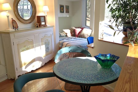 Artistic & Bright 2BR Retreat Apt. - House