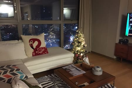 LUXURY APARTMENT (PRIVITE ROOM)  NAMSAN TOWER VIEW - Чун-гу - Квартира