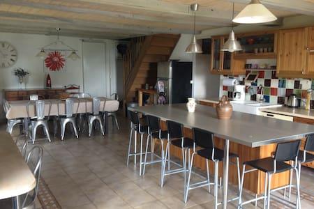 Belle maison de famille La Fermette - Talo