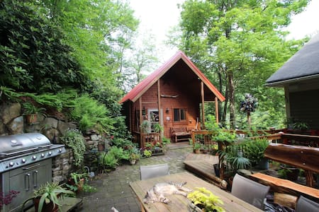 Cabin in the trees in historic Jim Thorpe... - 小屋