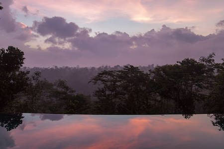 Panoramic valley view, tranquil, 15m infinity pool - Ubud - Villa
