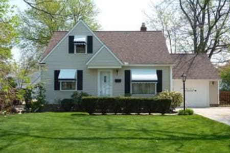 RNC - Close to Downtown Cleveland - Casa