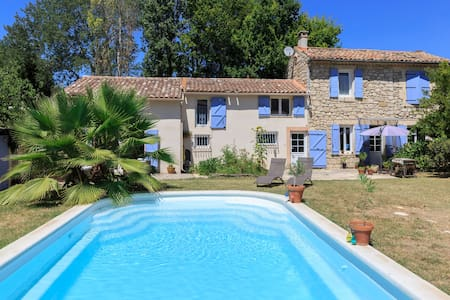 Private floor w/ensuite in large house in Luberon - Mallemort - Haus