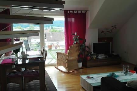 Maisonette Wohnung am Bodensee - Bodman-Ludwigshafen - Appartamento