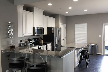 Luxurious 3 Bed/3.5 Bath Minutes from City Center! - Baltimore - Adosado