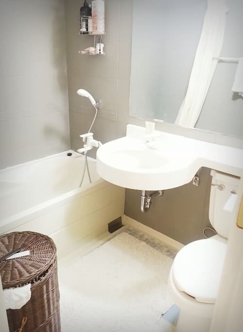 neat and tidy bathroom