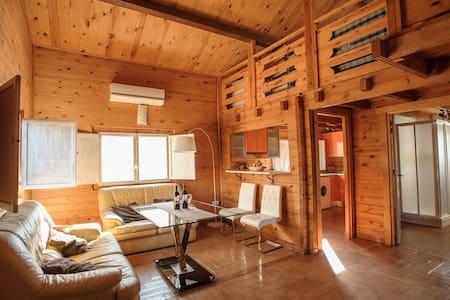 Casa de madera en Ribera Baja - Hytte